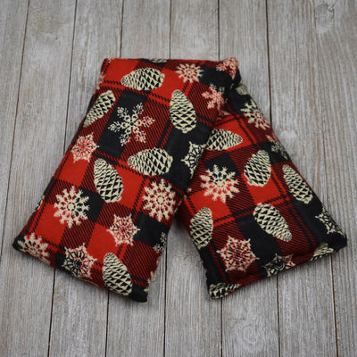 Cherry Pit Heating Pad - Pinecones and Snow