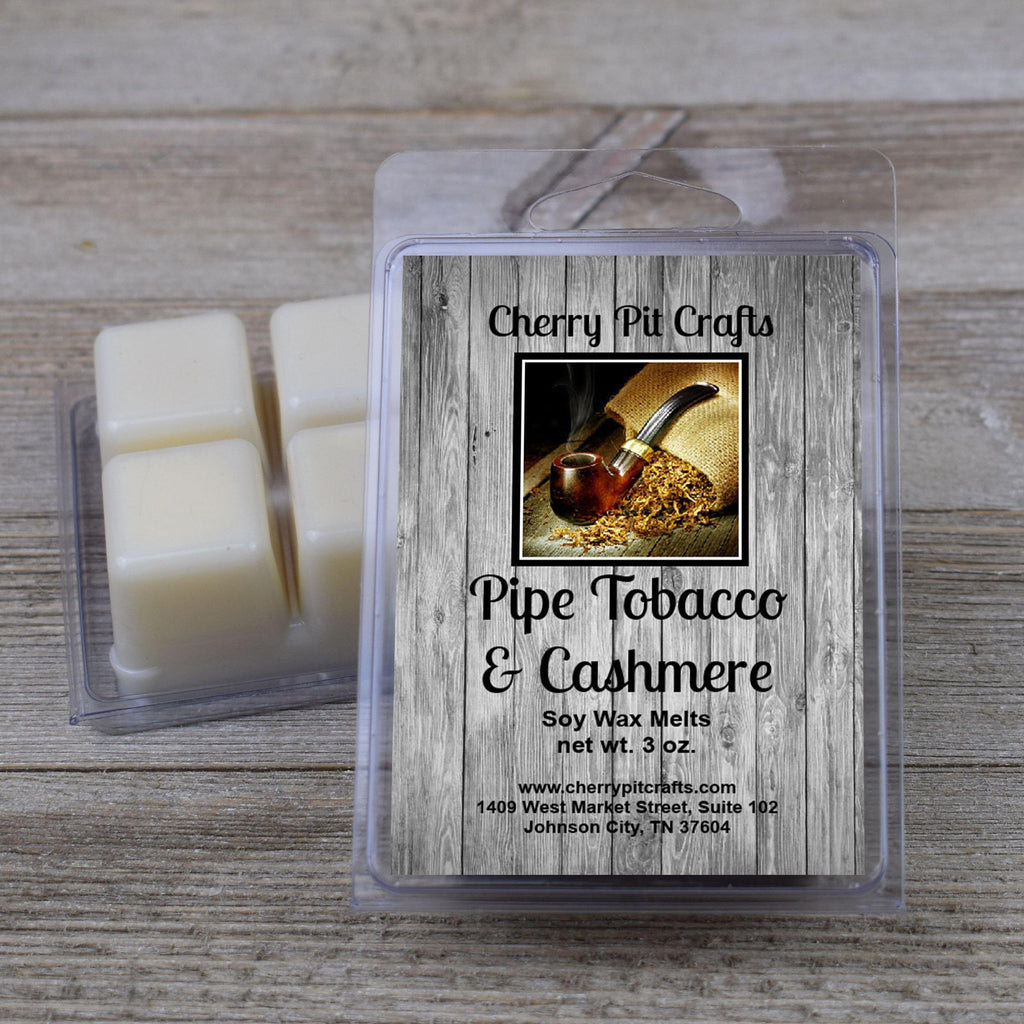 Pipe Tobacco & Cashmere Soy Wax Melts