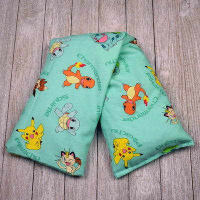 Cherry Pit Heating Pad - Pokemon Characters Aqua