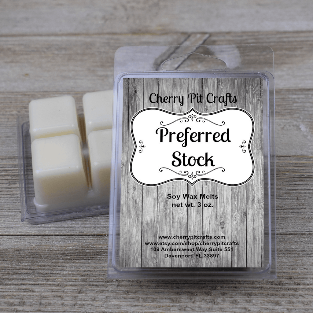 Preferred Stock Soy Wax Melts