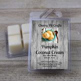 Pumpkin Coconut Cream Soy Wax Melts