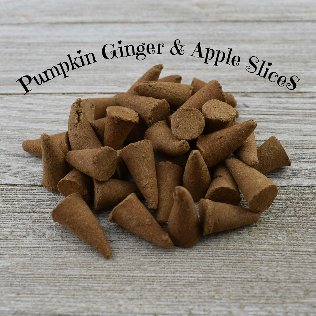 Pumpkin Ginger & Apple Slices Incense Cones