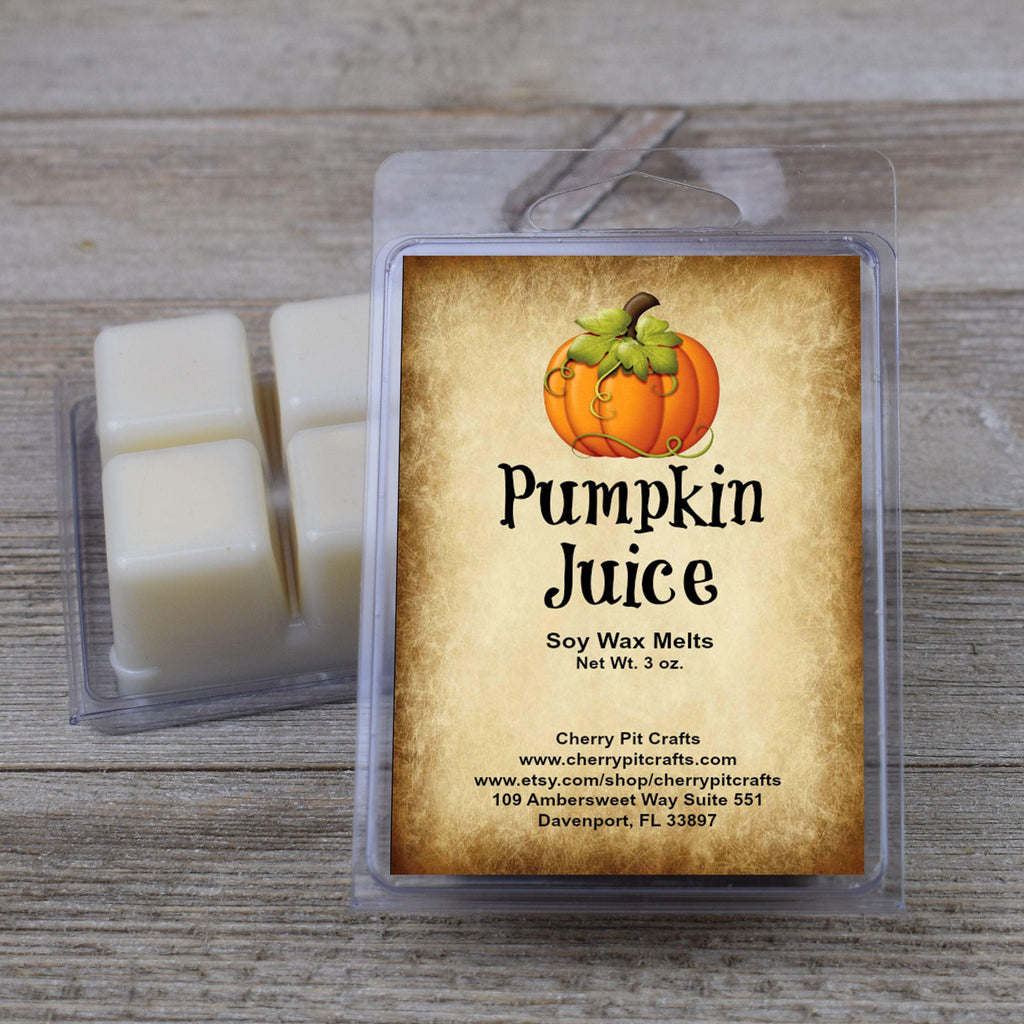 Pumpkin Juice Harry Potter Themed Soy Wax Melts