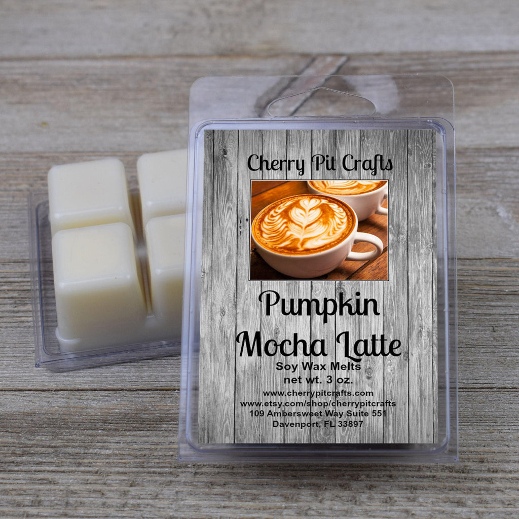 Pumpkin Mocha Latte Soy Wax Melts