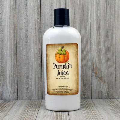 Pumpkin Juice Harry Potter Themed Goats Milk & Honey Lotion