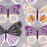 Cherry Pit Heating Pad - Purple Butterflies