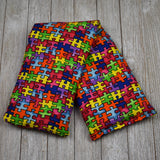 Cherry Pit Heating Pad - Puzzle Pieces Autism Awareness