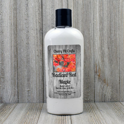 Radiant Red Maple Body Lotion