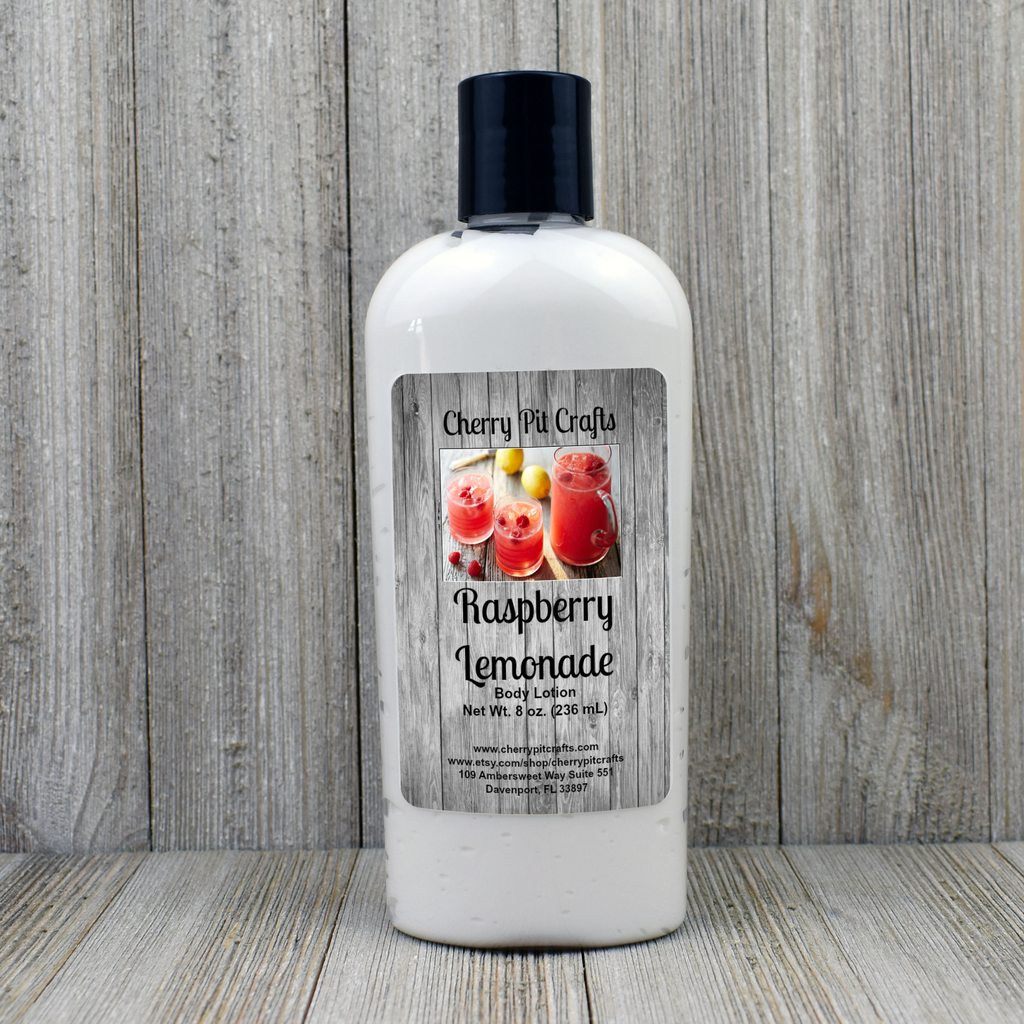 Raspberry Lemonade Body Lotion