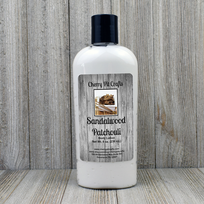 Sandalwood Patchouli Body Lotion