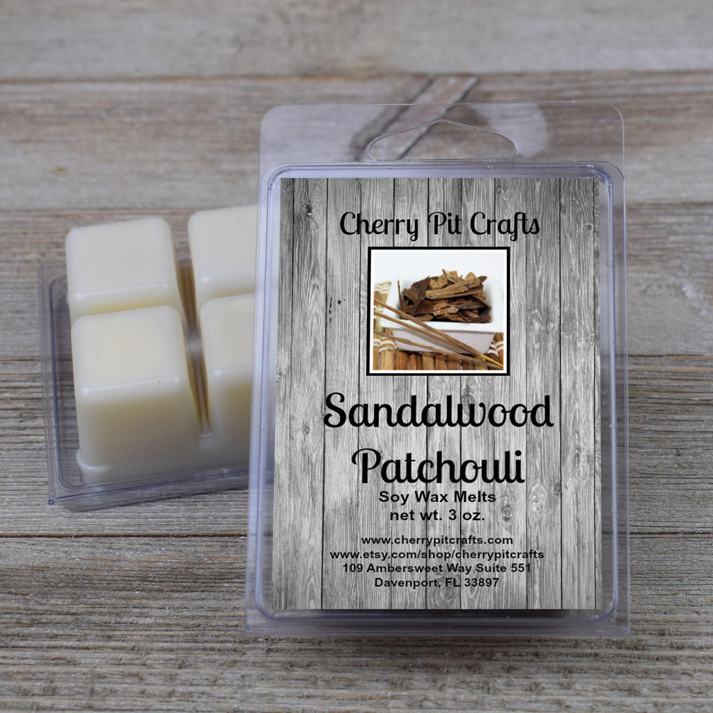 Sandalwood Patchouli Soy Wax Melts