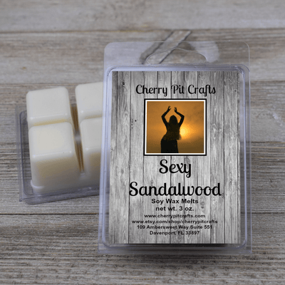 Sexy Sandalwood Soy Wax Melts