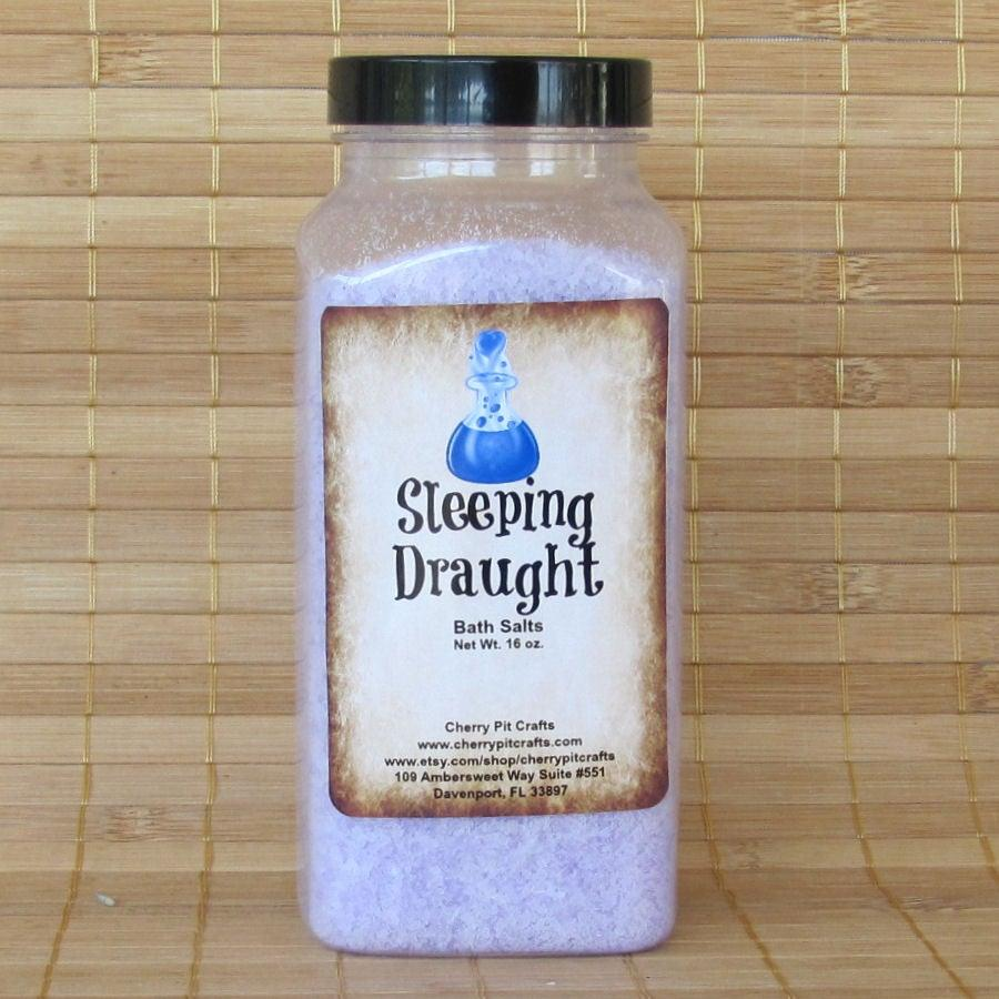 Sleeping Draught Harry Potter Themed Bath Salts