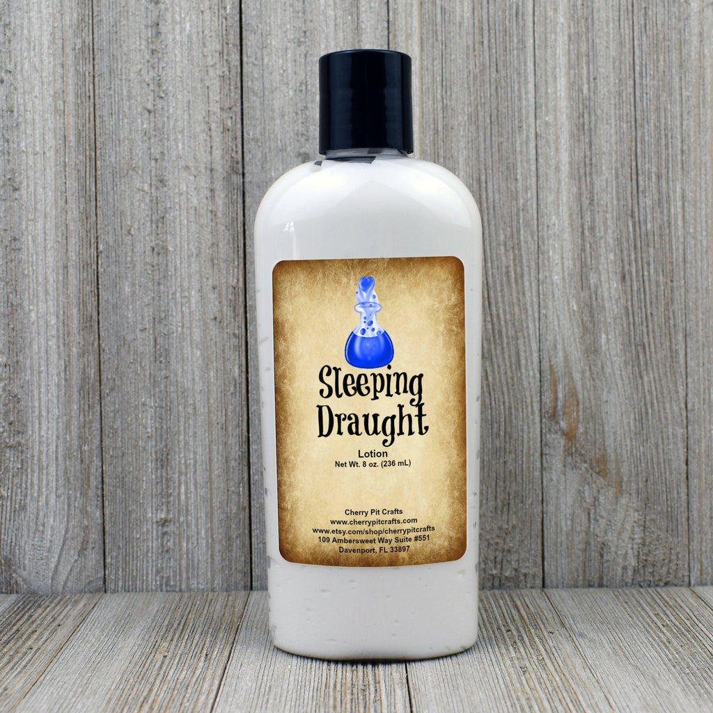 Sleeping Draught Harry Potter Themed Goat Milk & Honey Lotion