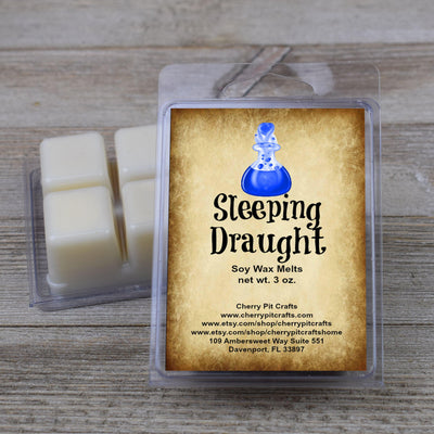 Sleeping Draught Harry Potter Themed Soy Wax Melts