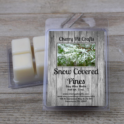 Snow Covered Pines Soy Wax Melts