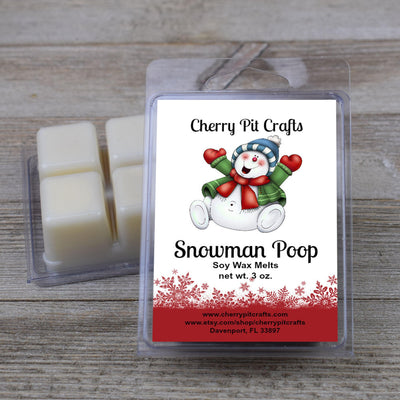 Snowman Poop Soy Wax Melts
