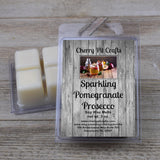 Sparkling Pomegranate Prosecco Soy Wax Melts