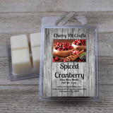 Spiced Cranberry Soy Wax Melts