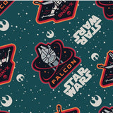 Cherry Pit Heating Pad - Star Wars Ships Green