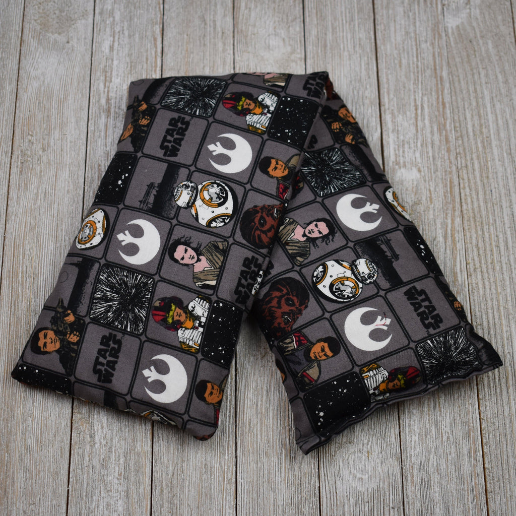 Cherry Pit Heating Pad - Star Wars VII Heroes In Squares