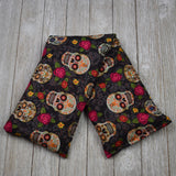 Cherry Pit Heating Pad - Sugar Skulls And Flowers