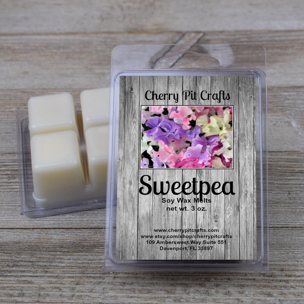 Sweet Pea Soy Wax Melts