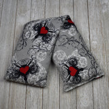 Cherry Pit Heating Pad - Tattoo Hearts