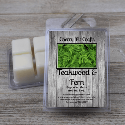 Teakwood & Fern Soy Wax Melts