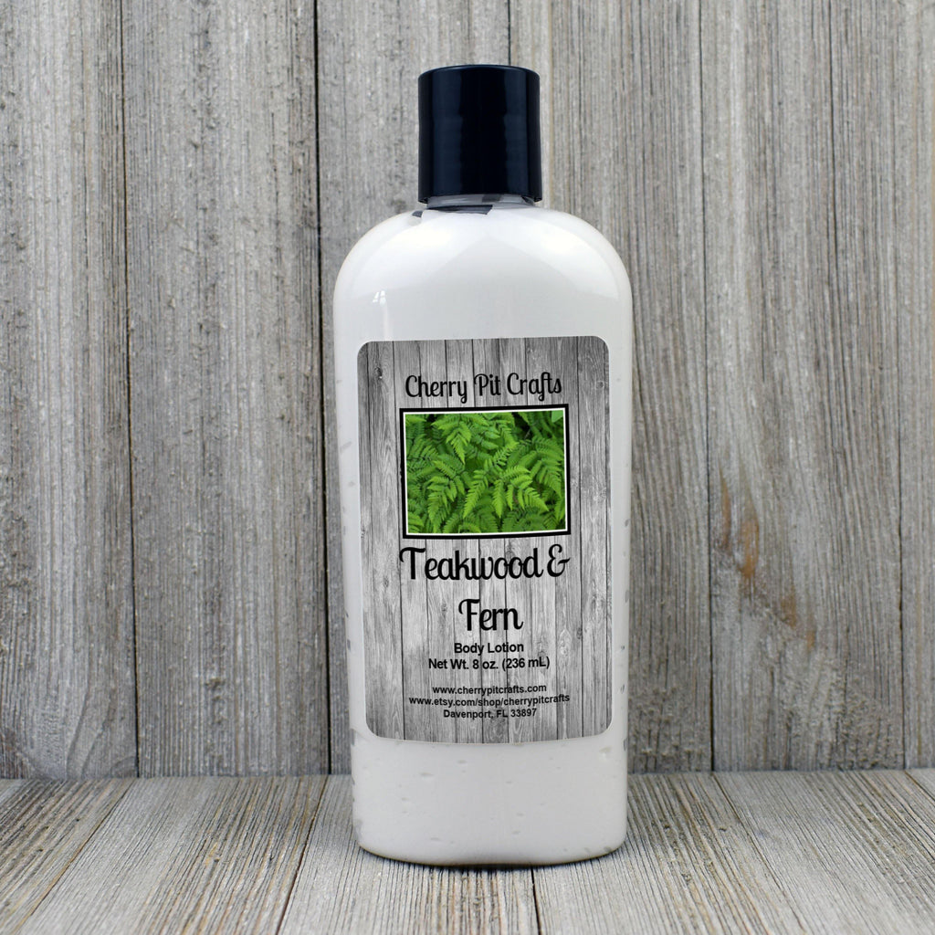 Teakwood & Fern Body Lotion