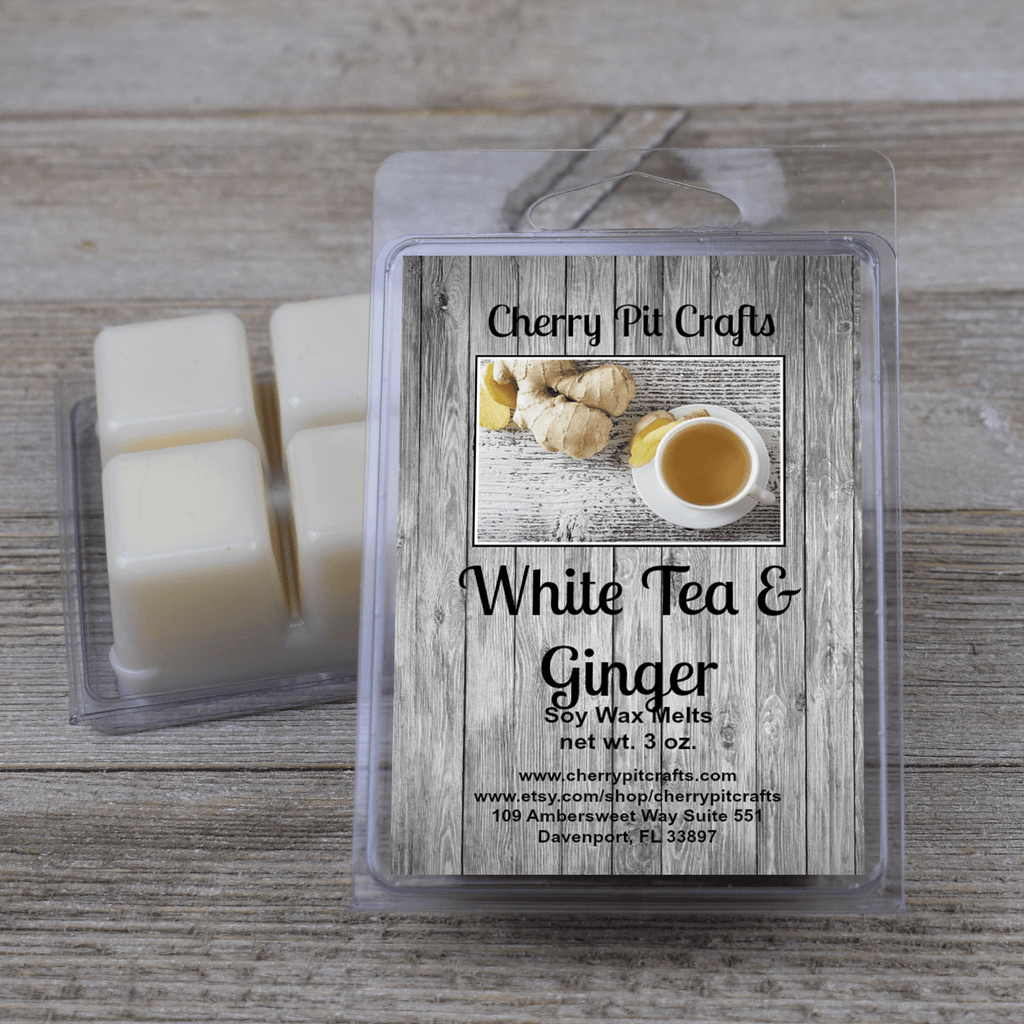 White Tea Ginger Soy Wax Melts