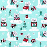 Cherry Pit Heating Pad - Winter Polar Bears