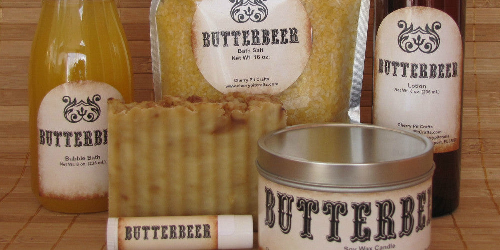 Butterbeer Bath and Body Products