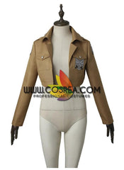 Attack On Titan Mikasa Ackerman Complete Cosplay Costume
