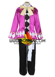 Black Butler Joker Satin Cosplay Costume - Cosrea Cosplay