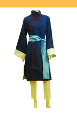 Black Butler Lau Dark Blue Cosplay Costume