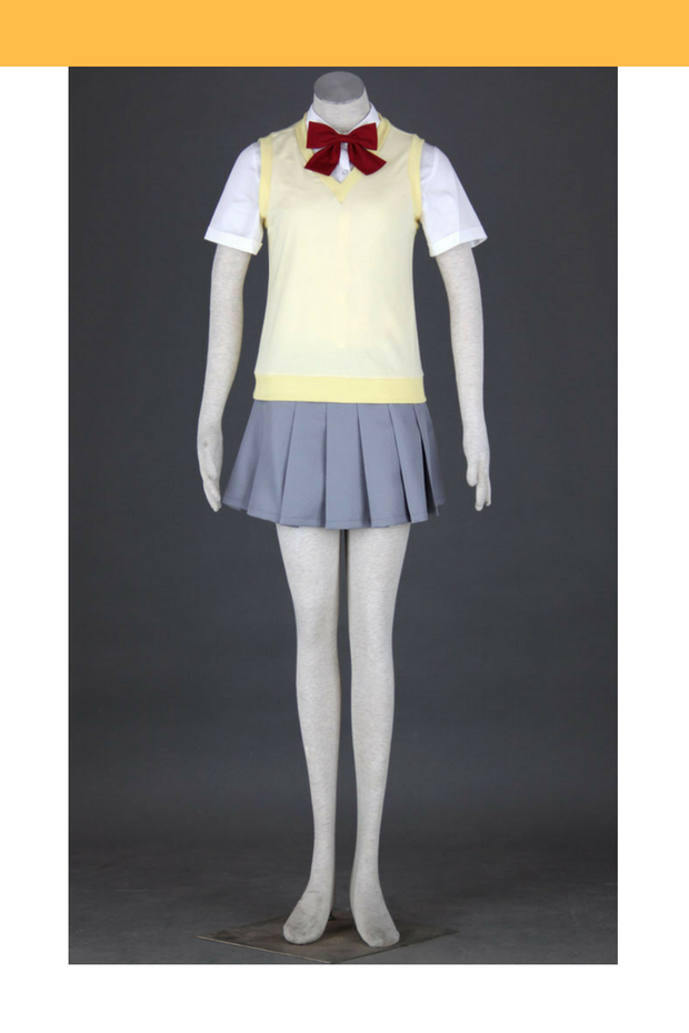 Bleach Karakura High School Female Fall Cosplay Costume - Cosrea Cosplay