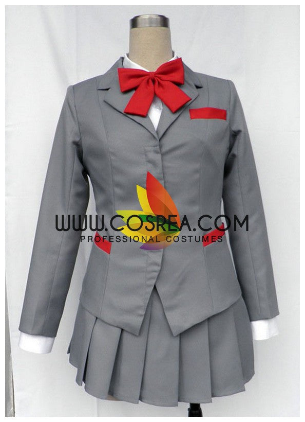 Bleach Rukia Karakura High School Cosplay Costume - Cosrea Cosplay