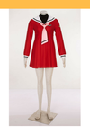 Cosrea A-E Cardcaptor Sakura Cherry Red Sailor Uniform Cosplay Costume