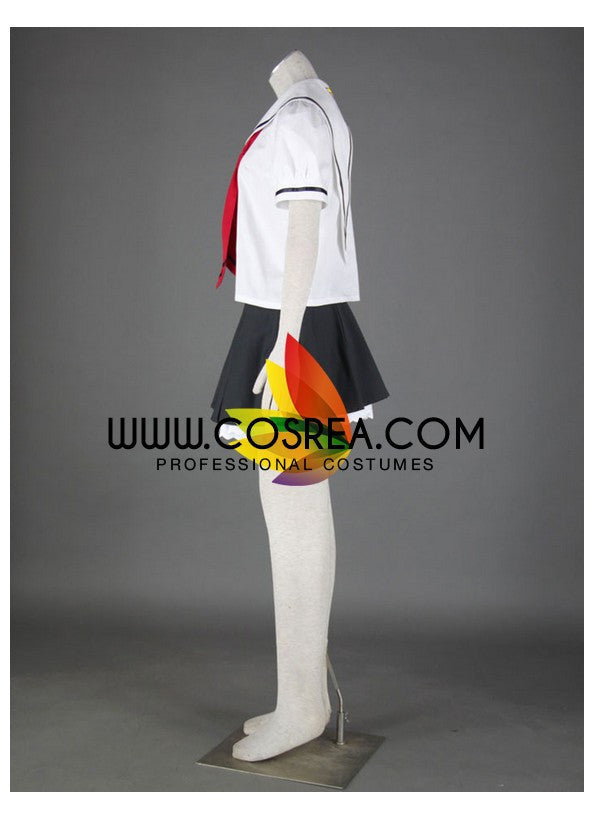 Cardcaptor Sakura Summer School Uniform Cosplay Costume - Cosrea Cosplay