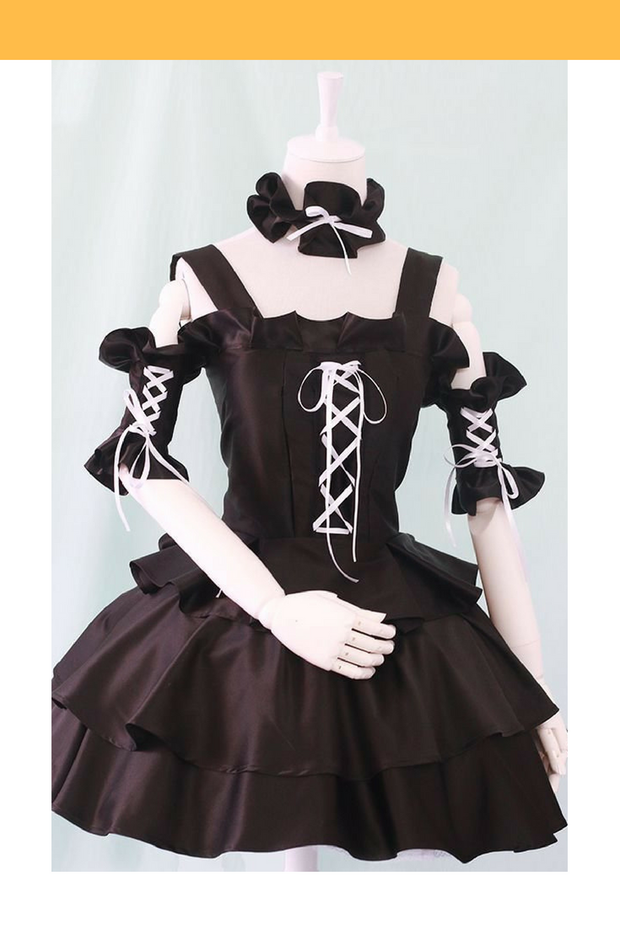 Chobit Chii Black And White Cosplay Costume - Cosrea Cosplay