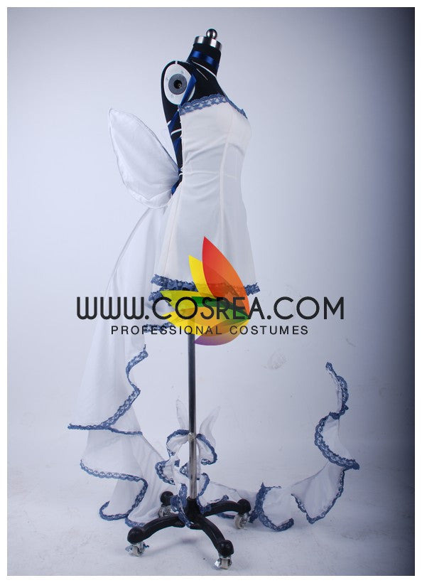 Chobits Chii Classic White Cosplay Costume - Cosrea Cosplay