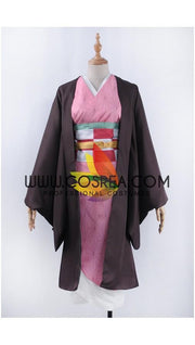 Demon Slayer Nezuko Kamado Cosplay Costume - Cosrea Cosplay