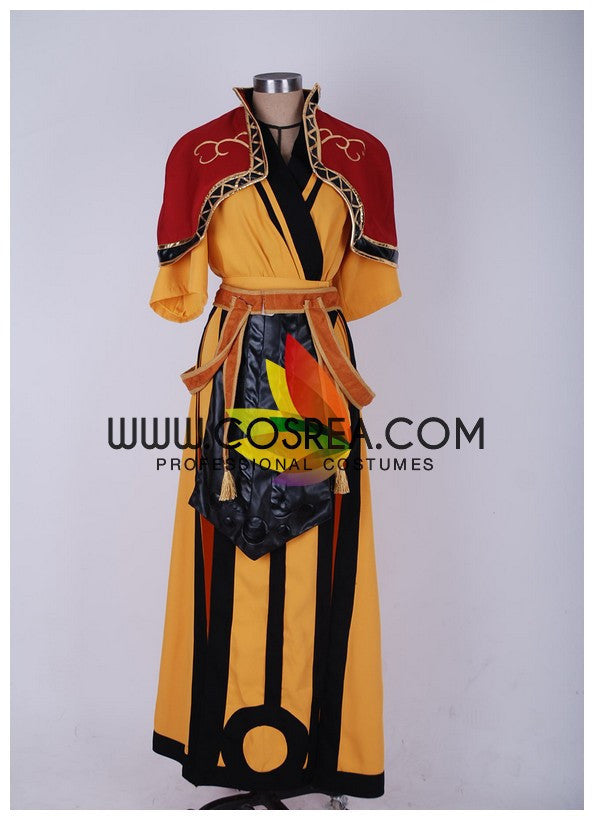 Cosrea A-E Diablo 3 Female Monk Fabric Cosplay Costume