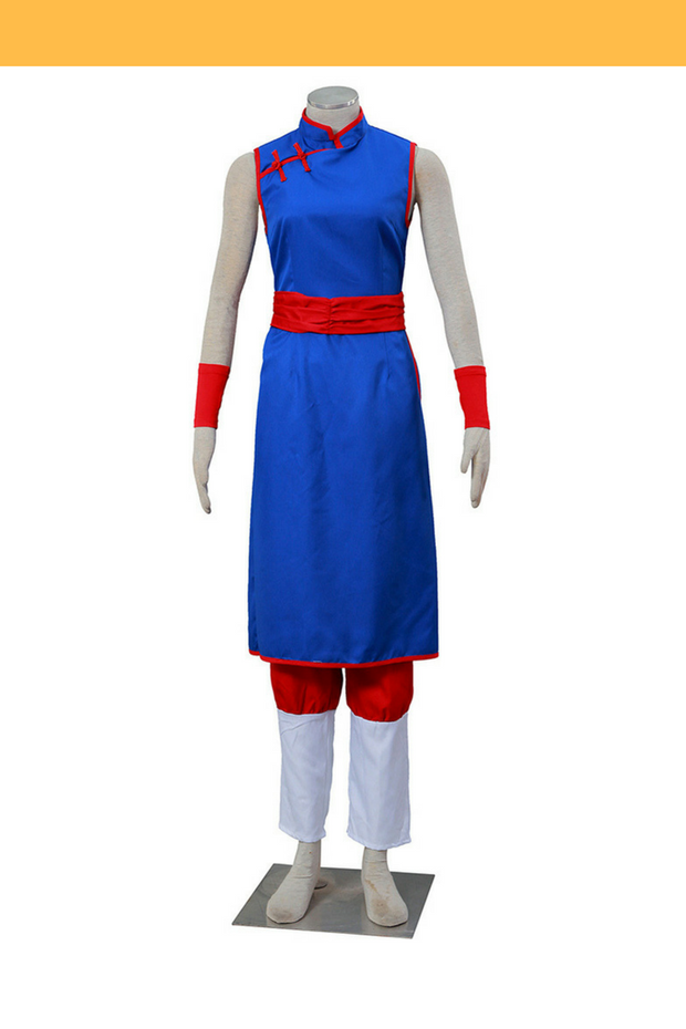 Dragonball Chi Chi Youth Qipao Cosplay Costume - Cosrea Cosplay