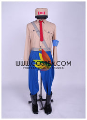 Cosrea A-E Dragonball General Blue Cosplay Costume