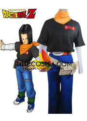 Dragonball Number 17 Cosplay Costume - Cosrea Cosplay