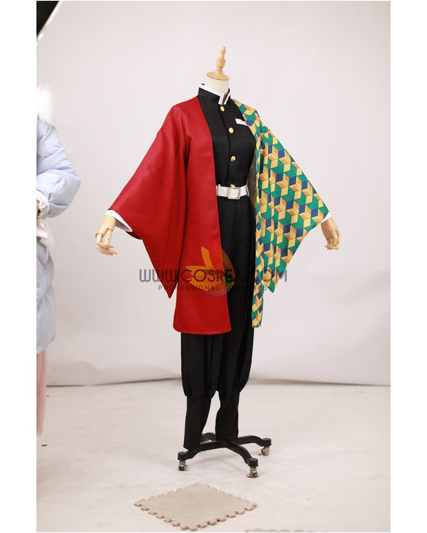 Cosrea A-E Giyu Tomioka Water Hashira Demon Slayer Cosplay Costume