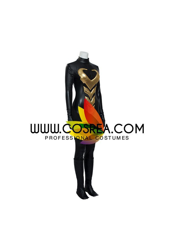 Wasp Comic Appearance PU Leather Cosplay Costume - Cosrea Cosplay