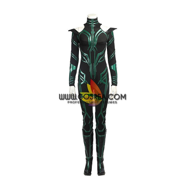 Hela Option B PU Leather Cosplay Costume - Cosrea Cosplay